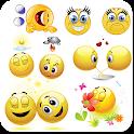 WAStickerApps emojis stickers for whatsapp icon