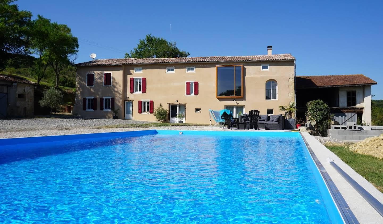 Maison avec piscine et terrasse Mirepoix