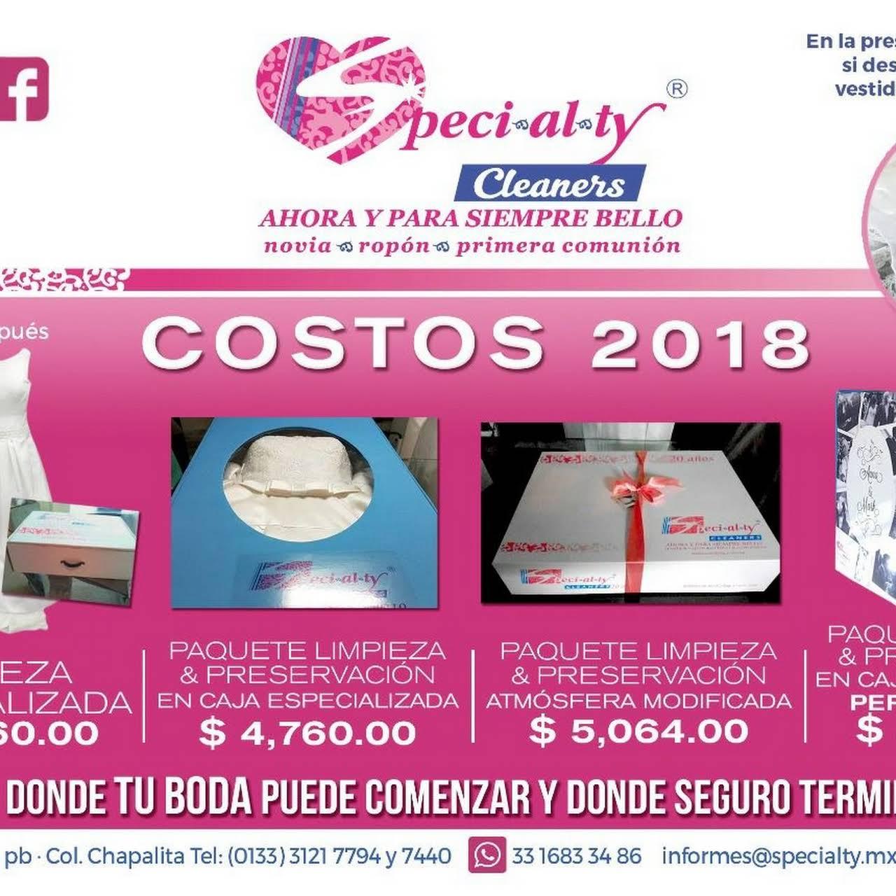 Specialty Cleaners Tintoreria Novias - Tintorería en Guadalajara
