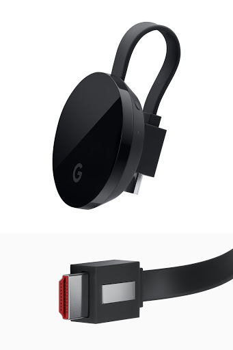 Chromecast Ultra profile