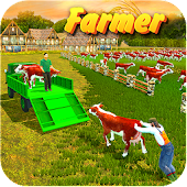 Grand Tractor Cargo Transport Farming Simulator 3D