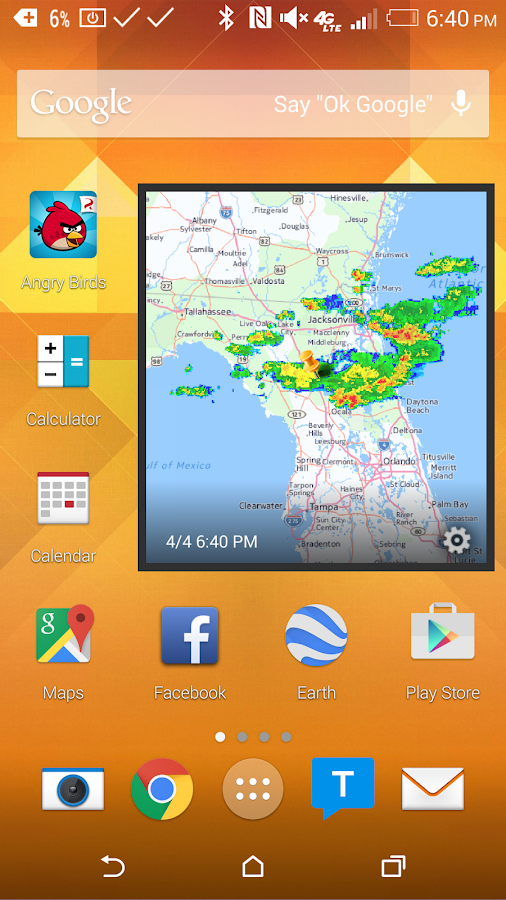 Weather Radar Widget- screenshot