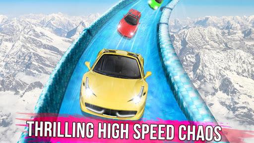 Frozen Water Slide Car Race 1.6 screenshots 6