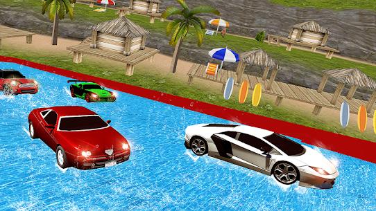 Water Slide Car Racing adventure 2019 1