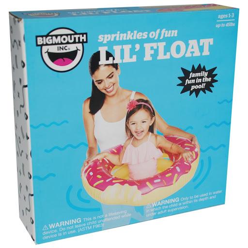 flotador inflable bigmouth donut