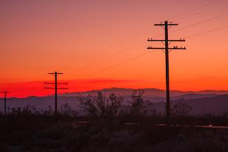 Photo: Mojave National preserve, January 2009.
