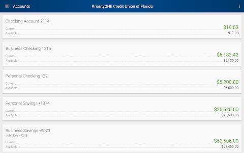 PriorityONE Credit Union of Fl screenshot 5