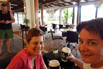 Photo: Cafe Ziba, the very best coffee in Port Douglas and a daily early morning ritual for us!