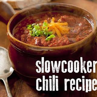 5 Ingredient Crock Pot Chili [Bean Free].