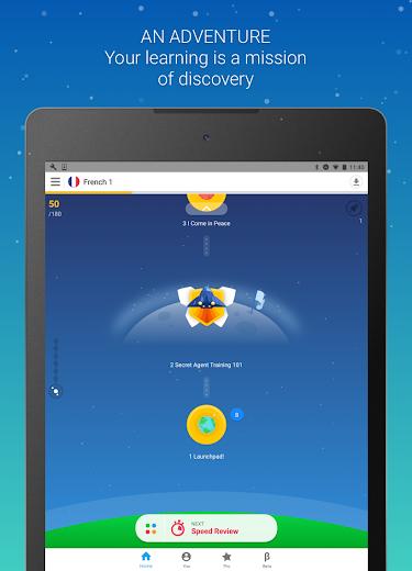 Screenshot 6 for Memrise's Android app'
