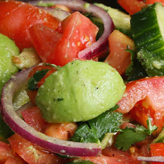 Cucumber Tomato Avocado Salad Recipes.