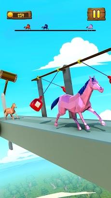 Horse Run Fun Race 3D Gamesのおすすめ画像1