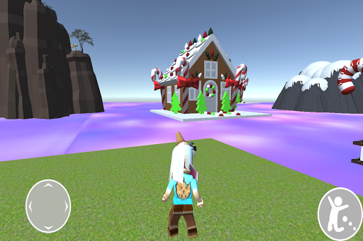 Obby cookie swirl Rblx's candy land android2mod screenshots 1