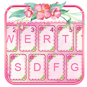 Pinkflowers Keyboard Theme icon