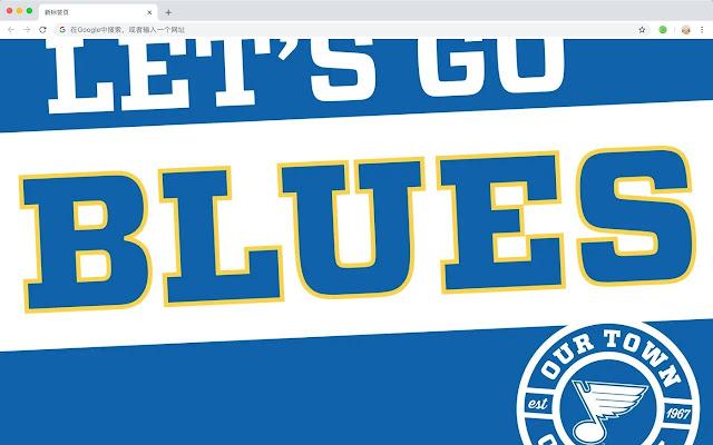 St. Louis Blues HD New Tab Popular NHL Themes