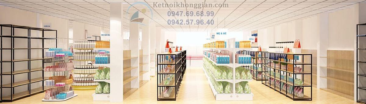 thiết kế siêu thị mini đỉnh nhất quả đất