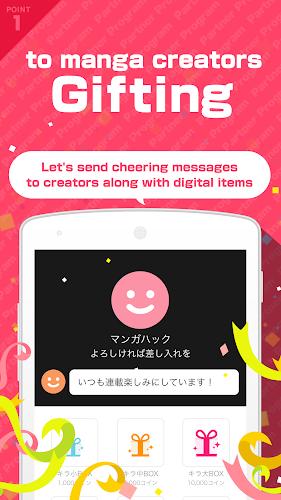Download Manga Hack - Creator support app APK latest version