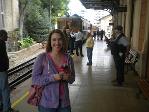 Photo: Waiting for the train in Palma