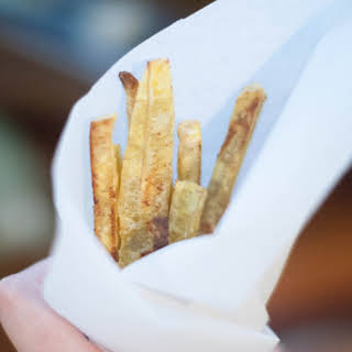 Baked Plantain Fries (AIP Friendly).