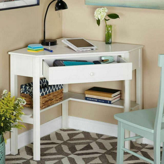 Target 23607WHT Computer Corner Desk for sale online | eBay