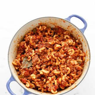 American Chop Suey aka Goulash.