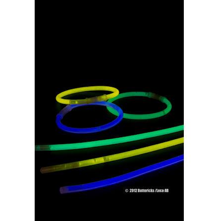 Glowsticks, lysande armband 15st