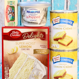 Lemon Dump Cake Recipes.