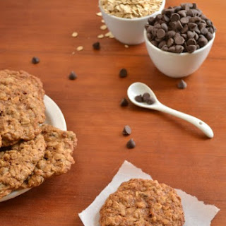 Whole Wheat Oatmeal Chocolate Chip Cookies