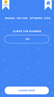 Guess The Magic Number Game - náhled