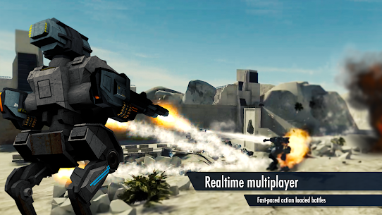 Mech Battle 1.2.0 Apk Mod (Unlimited Everything) Latest Version Download 1
