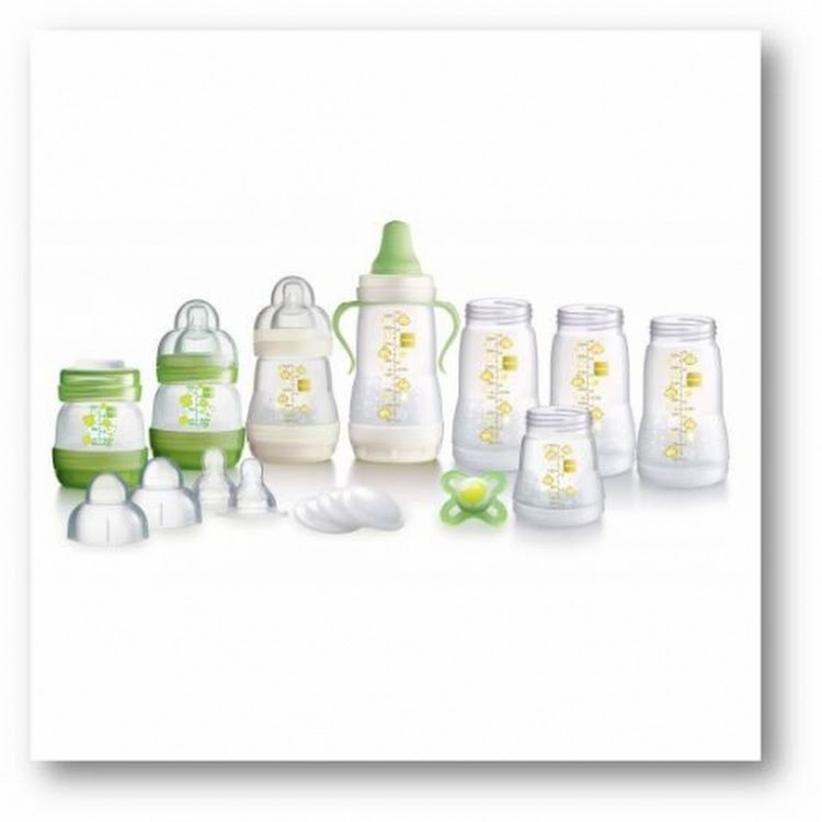 MAM Anti-Colic Bottle Starter Set (15 pieces) - Best Buy by GREEN WHEEL INTERNATIONAL SDN BHD