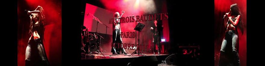 """Photo: BALLADYNA: """"SABBATH (MAIS LES INNOCENTS VONT SOUFFRIR AUSSI)"""" & """"RESPIRE...!"""" - crédit photo: A. Vercasson-Rubaïeva, Cédrik.B. """"LE LANGAGE DES VISCÈRES"""", Les Trois Baudets - Paris 2011)"""