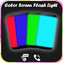 True Color Screen Flashlight : HD Torch Light 2019 icon