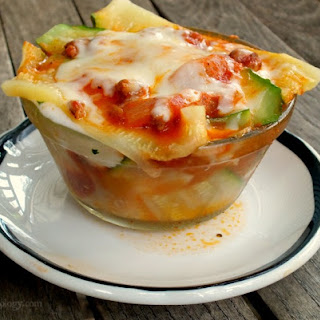 Lowcarb Lasagna for One When You Need It Fast