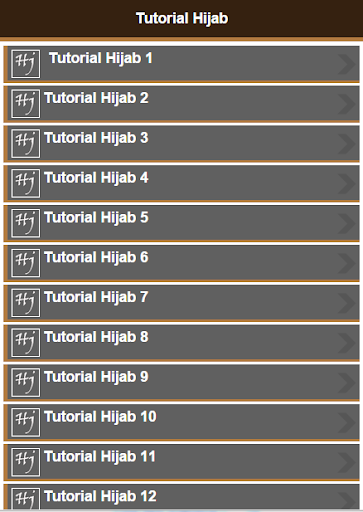 101 Tutorial Hijab