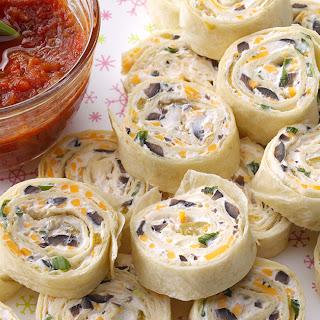 Southwestern Tortilla Pinwheel Appetizers Recipes.