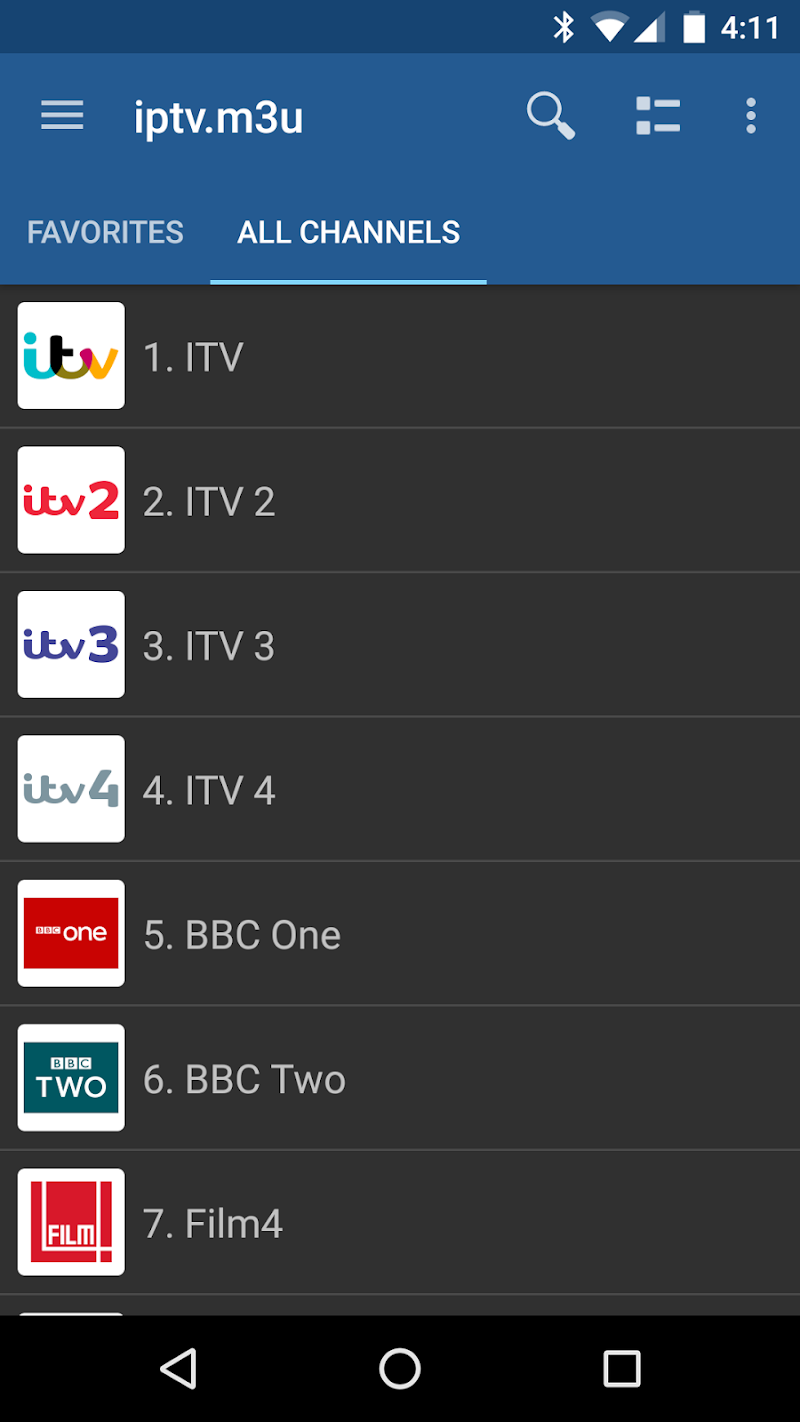 IPTV Pro Screenshot 1