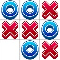 Tic Tac Toe 2 player games, tip toe 3d tic tac toe icon