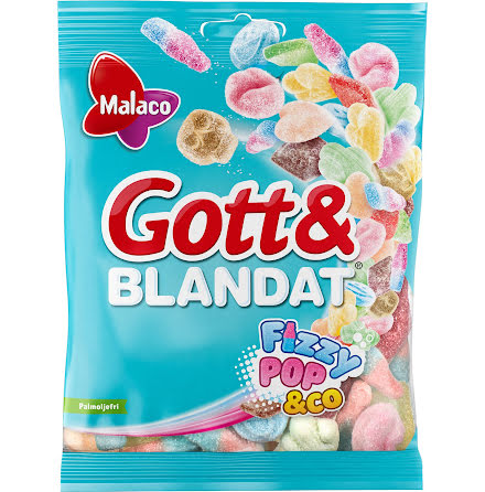 Gott & Blandat Fizzy 700g.