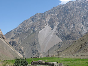 Photo: Kichik-Alay ravine (at the confluence with Chugam)