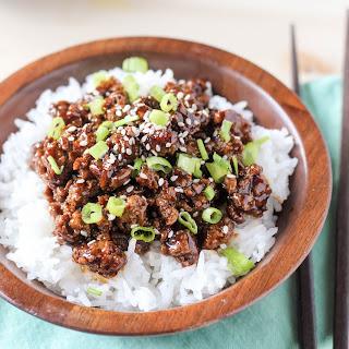 Asian Chicken Rice Bowl Recipe