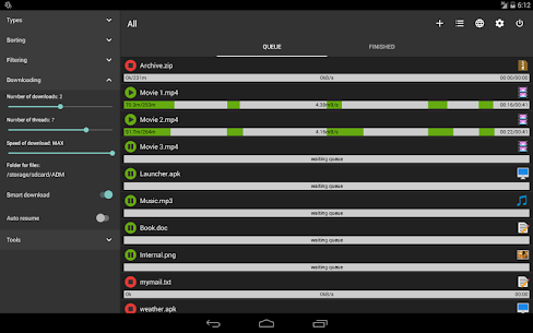 Advanced Download Manager Pro Apk ADM 12.3.1 (Premium) 9