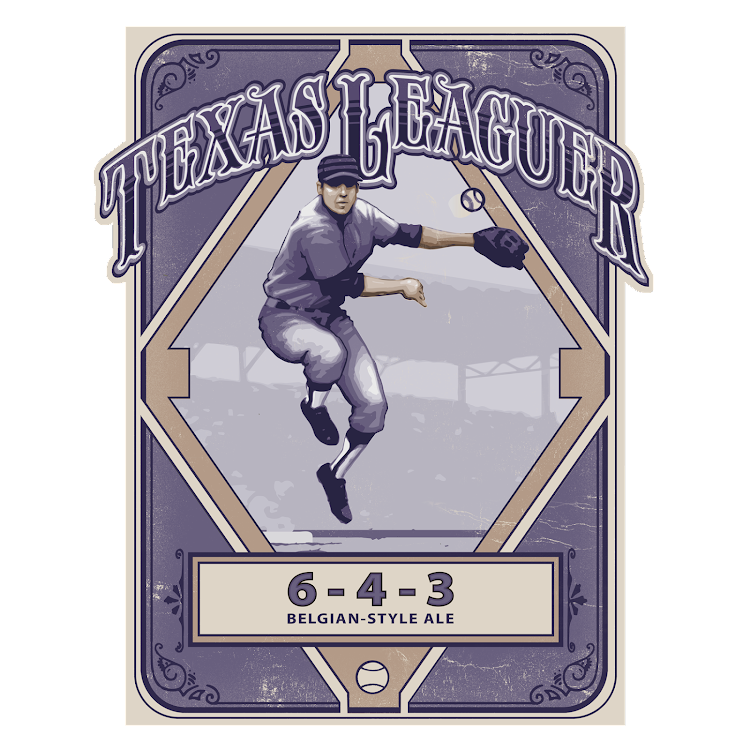 Logo of Texas Leaguer 6-4-3