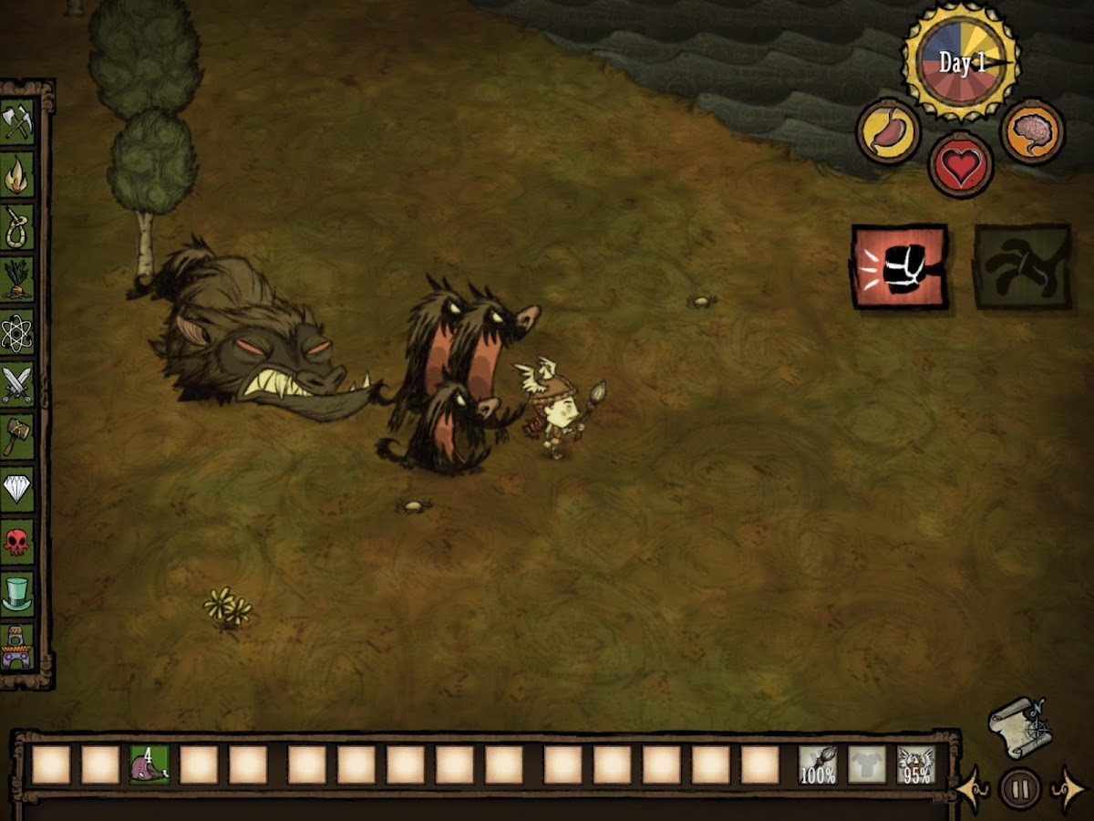 Don't Starve: Pocket Edition- screenshot
