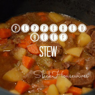 Peppered Beef Stew Recipe - Crockpot Cooking