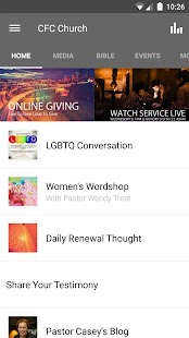 CFC Church- screenshot thumbnail