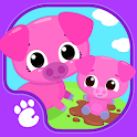 Cute & Tiny Farm Animals - Baby Pet Village icon