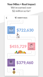 Charity Miles Walk&Run Tracker- screenshot thumbnail