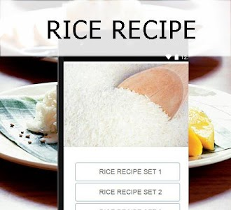 Rice recipes screenshot 1
