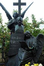 Photo: Tchaikovsky's grave - St. Petersburg, Russia